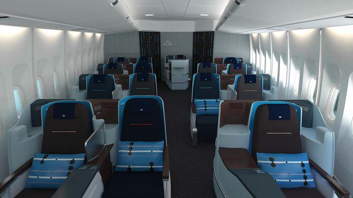 KLM Royal Dutch Airlines design identity
