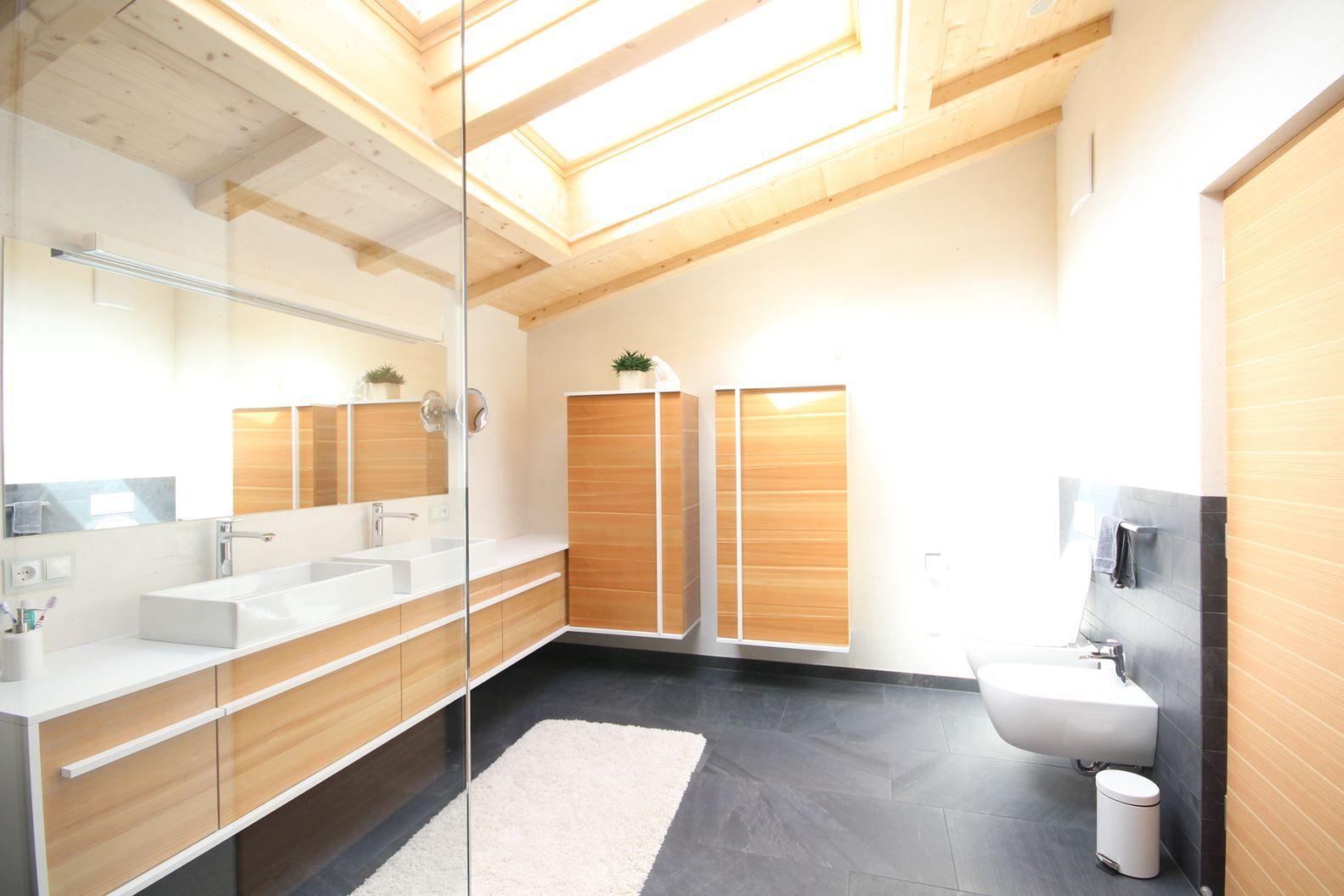 Bagno Montagna ~ Una mansarda in montagna bagno bathroom relax in mansarda
