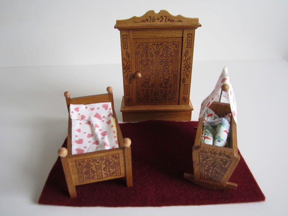 Schönes Holzmöbel für ein Kinderzimmer eBay Dollhouse