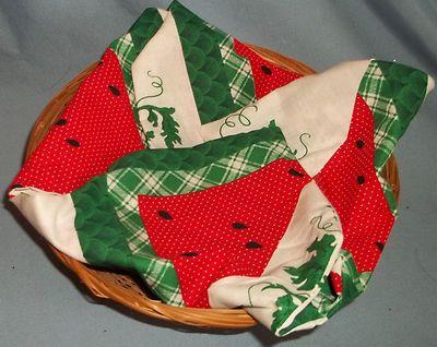 $2.99 Handmade Watermelon Bread Roll Cover: http://cgi.ebay.com/ws/eBayISAPI.dll?ViewItem&item=160751543431&ssPageName=STRK:MESE:IT