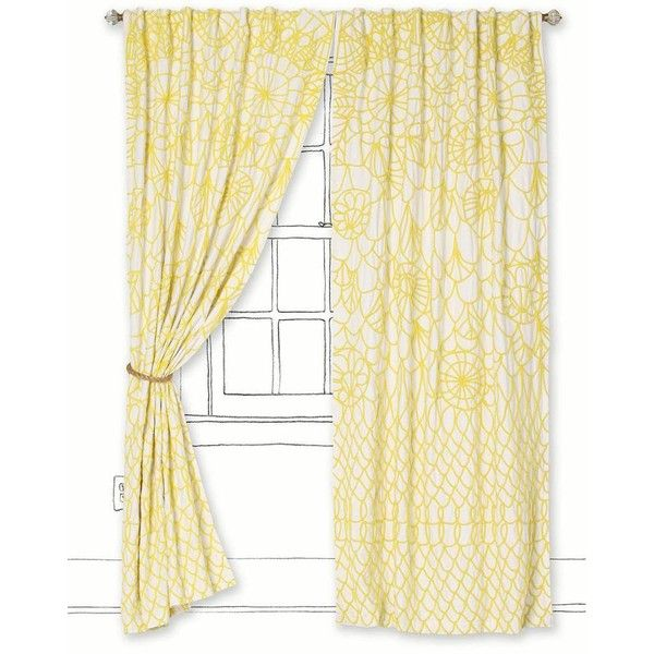 Soraya Curtain Liked On Polyvore Featuring Home Home Decor