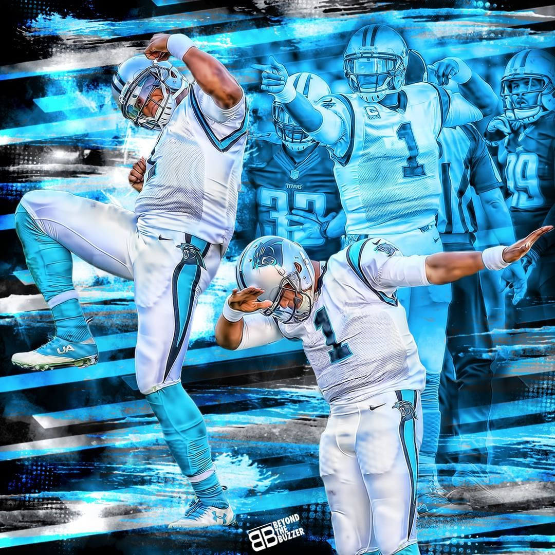 best service bd777 00f35 cam newton color rush dabbing | Dab Dance Wallpaper ...