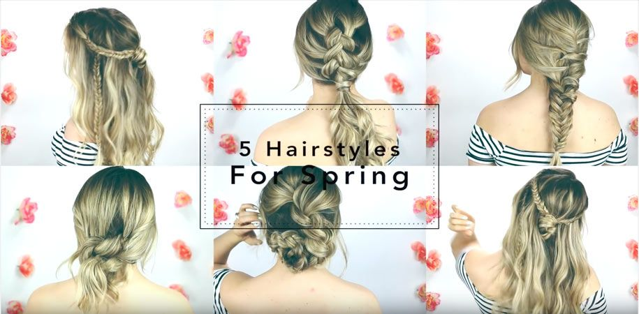 5 Quick And Easy Hairstyles For Medium Long Hair Easy Life Hacks Hair Styles Easy Hairstyles Long Hair Styles