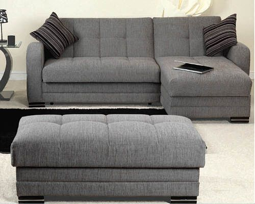Really Small Corner Sofas Light Green Sofa Malaga Luxury Bed Sofabed L Shaped With Storage
