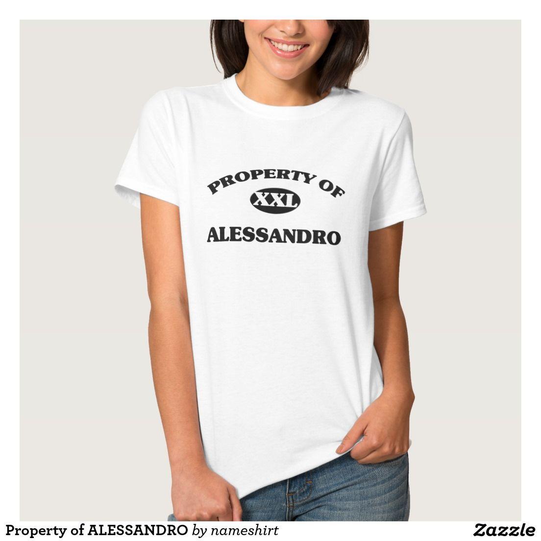 Property of ALESSANDRO Shirt