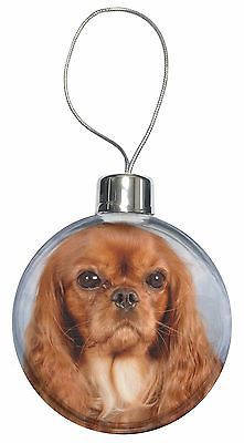 Ruby king #charles spaniel dog christmas tree #bauble #decoration gift, ad-skc3cb,  View more on the LINK: 	http://www.zeppy.io/product/gb/2/191914962343/