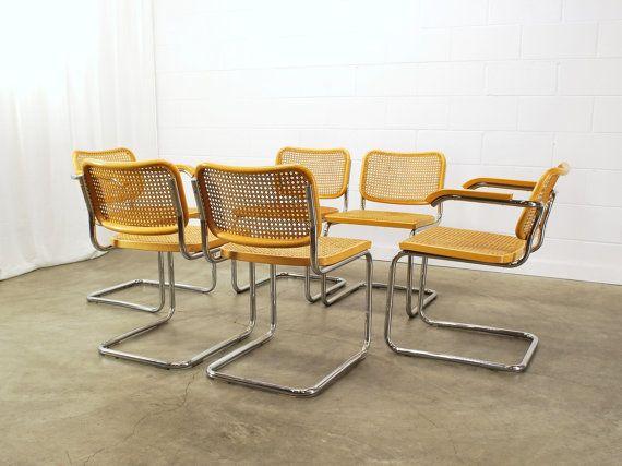 Set Of 6 Original Breuer Cesca Chairs By Stendig By MadsenModern, $2400.00