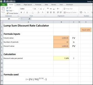 Lump Sum Discount Rate Calculator Tvmschools Annuity Calculator Annuity Calculator