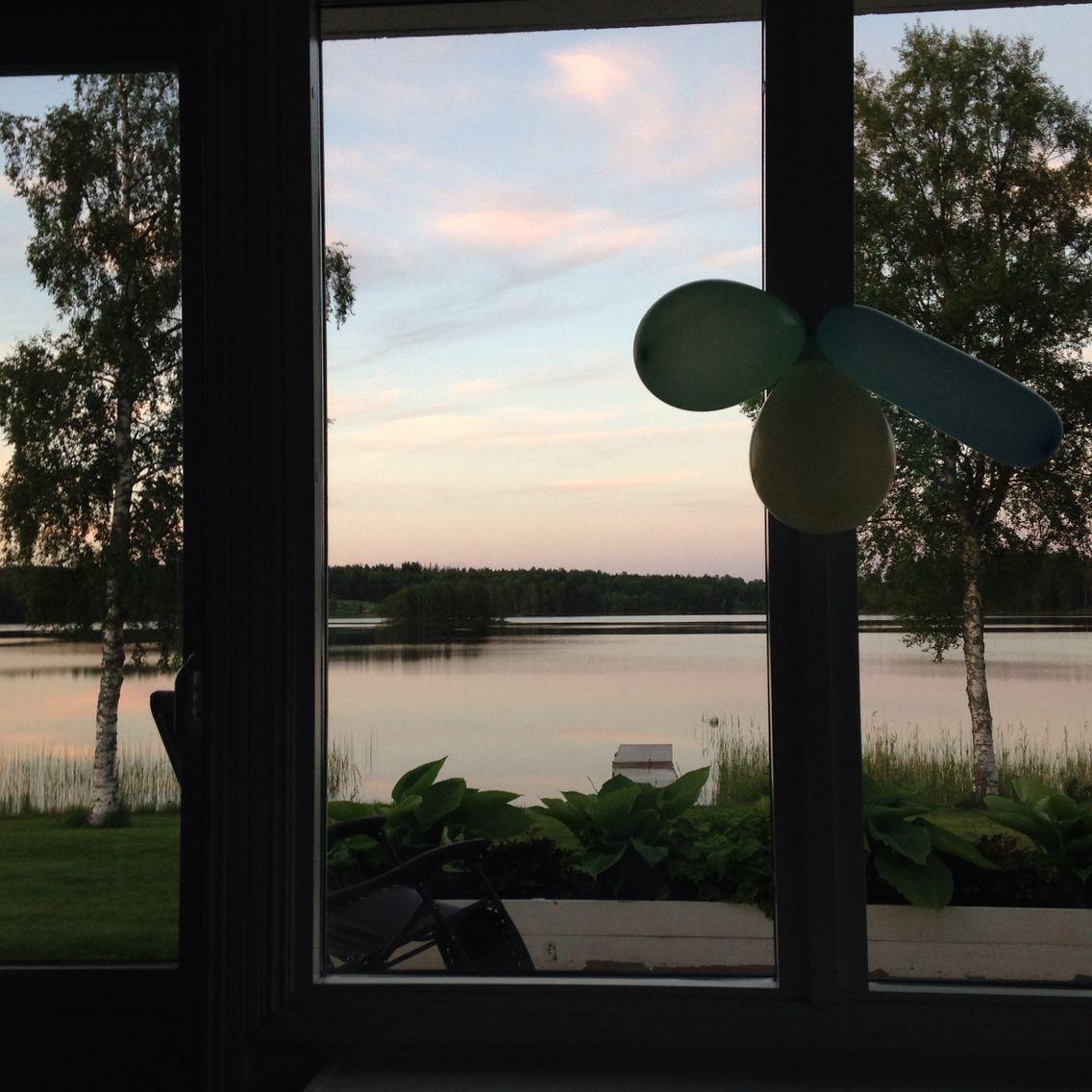 Midnatt vid midsommar, Norrland, Sverige, magiskt! Sweden.