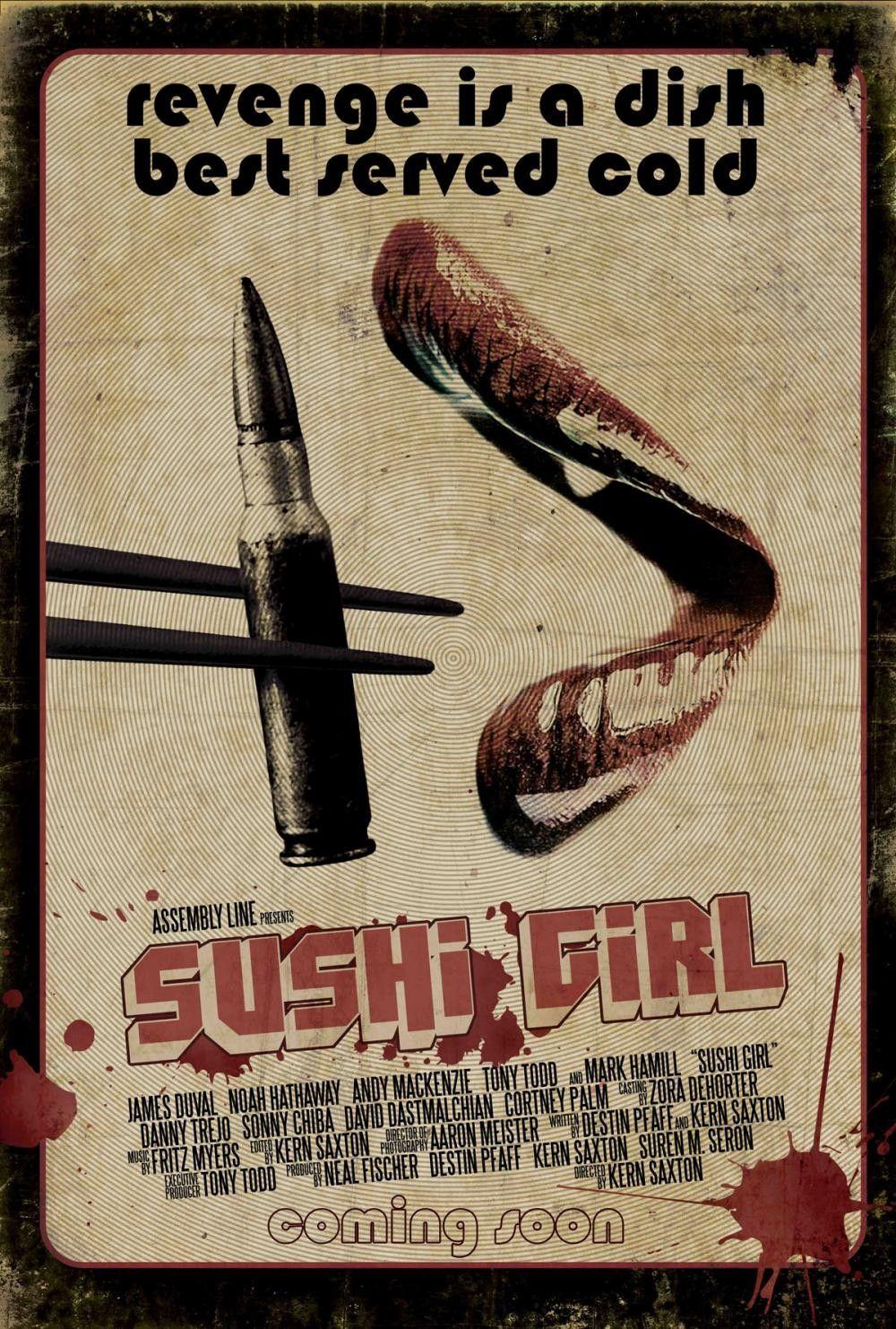 Sushi Girl ( USA, 2012) #1 Sin meterse en pedos nos da lo que queremos. Tiene un toque vintage.