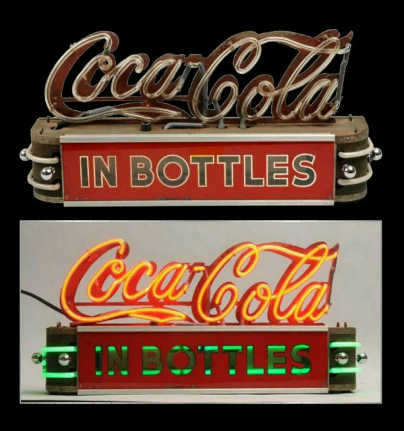 Countertop Signs Rare Original Coca Cola Countertop Neon Sign Neon Signs Coca