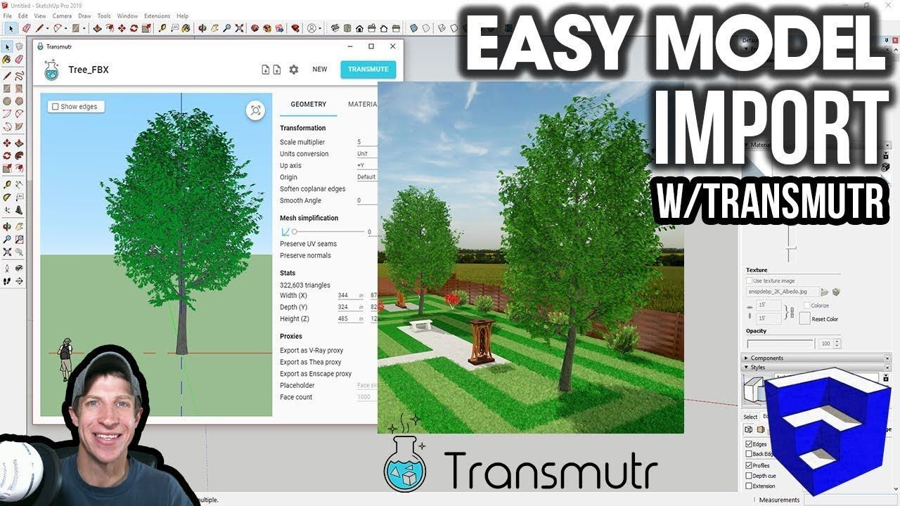 Easy Model Import And Proxies With Transmutr Easy Model Model