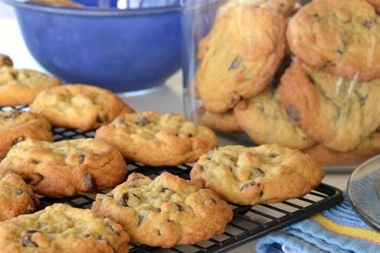 Perfect chocolate chip cookies that stay soft. It's the only chocolate chip cookie recipe you'll ever need.    I don't know about you, but I'm getting all antsy and excited for Fall. Cooler weather, cozier clothes, leaves