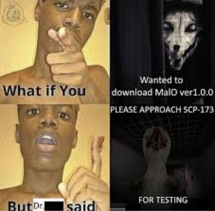Scp 173 Know Your Meme