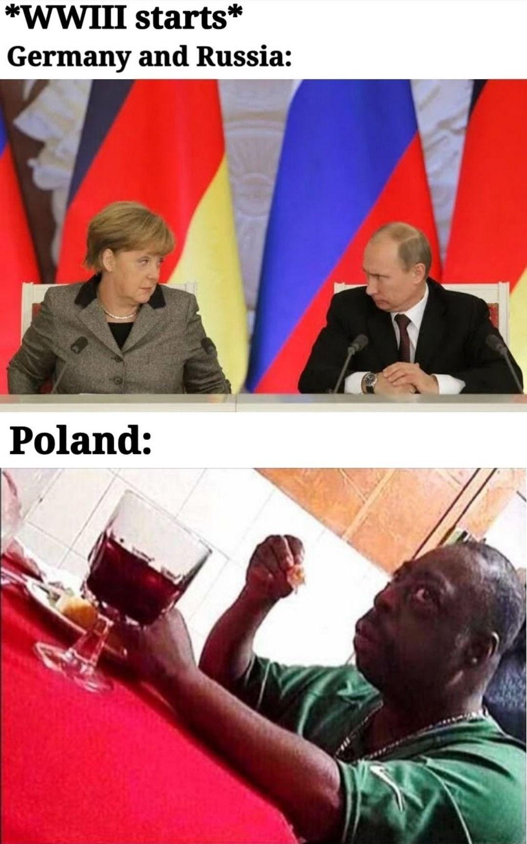 Ww3 Germany Russia Poland Beetlejuice Meme Nel 2020 Troppo