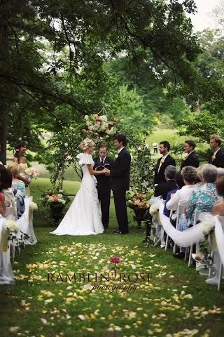 Wedding Ceremony In The Anese Garden At Memphis Botanic By Southern Event