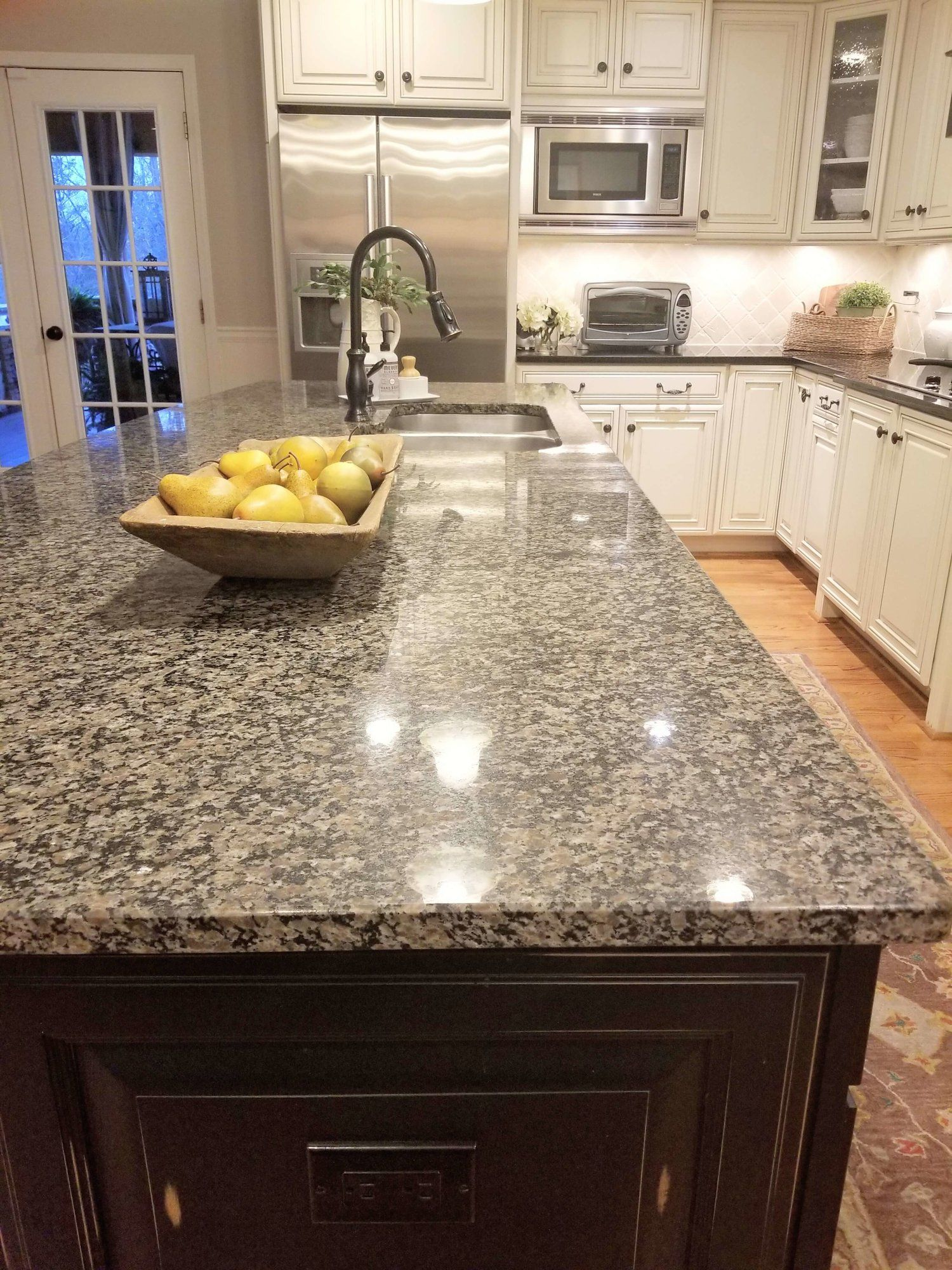 How A Simple Kitchen Island Countertop Change Can Totally Update A