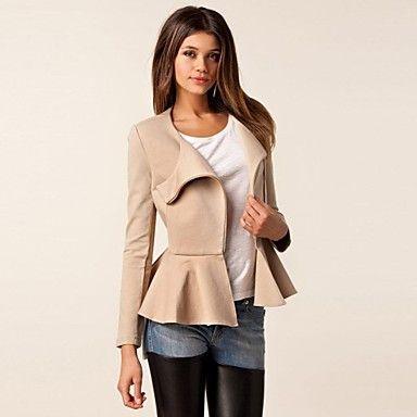 Women's Round Ziper Short Jacket Coat(More Colors) – USD $ 14.84