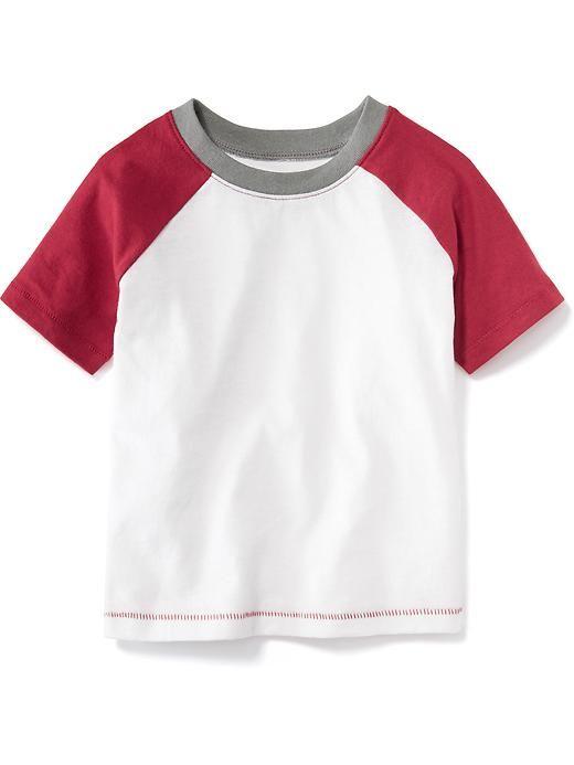 6a4e4a0d Colorblock Baseball Tee for Baby   Baby / Boy Cloths   Tees ...