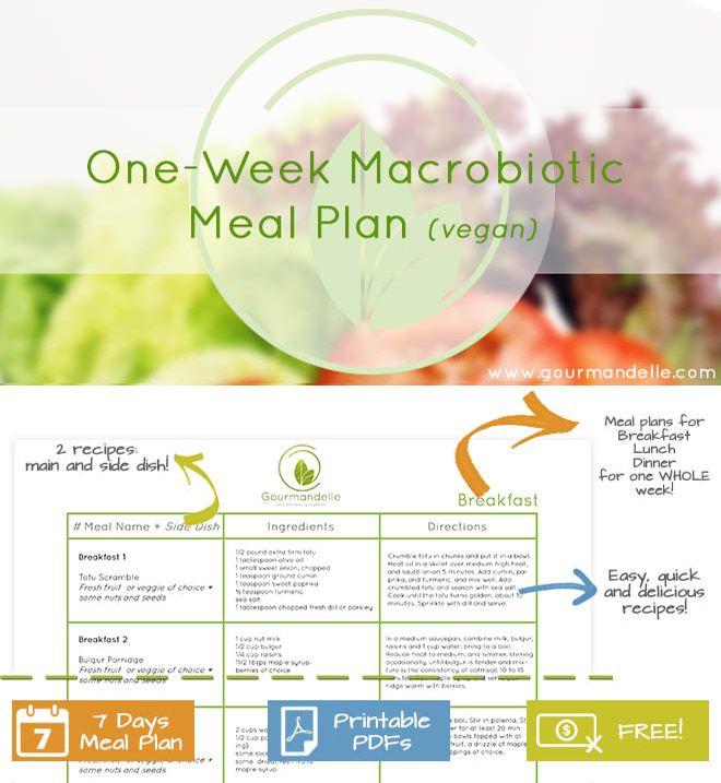 woman on a macrobiotic raw vegan diet