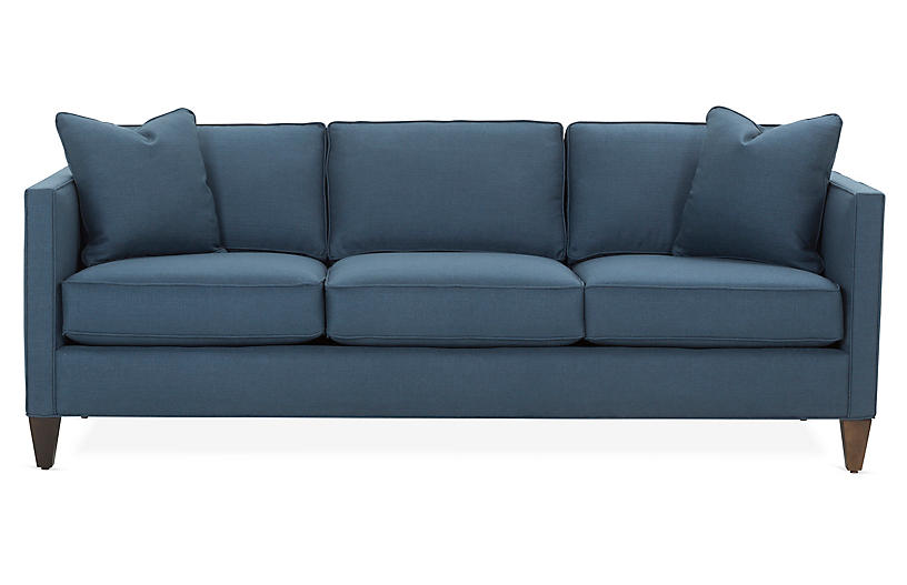 Cecilia Sleeper Sofa Navy Sofas For Small Spaces