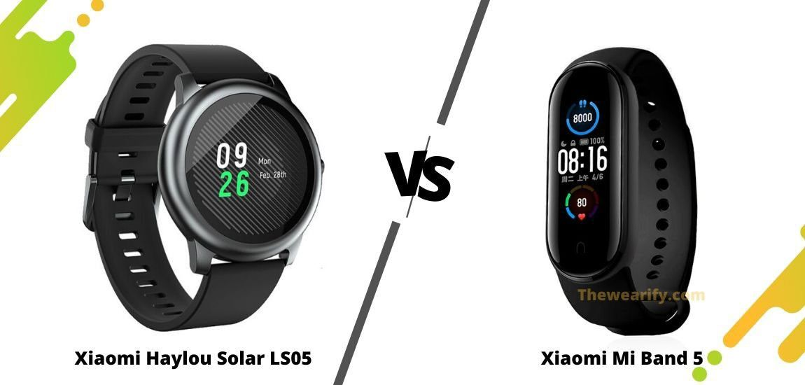 Haylou solar ls05 vs xiaomi mi band 5 which is the best