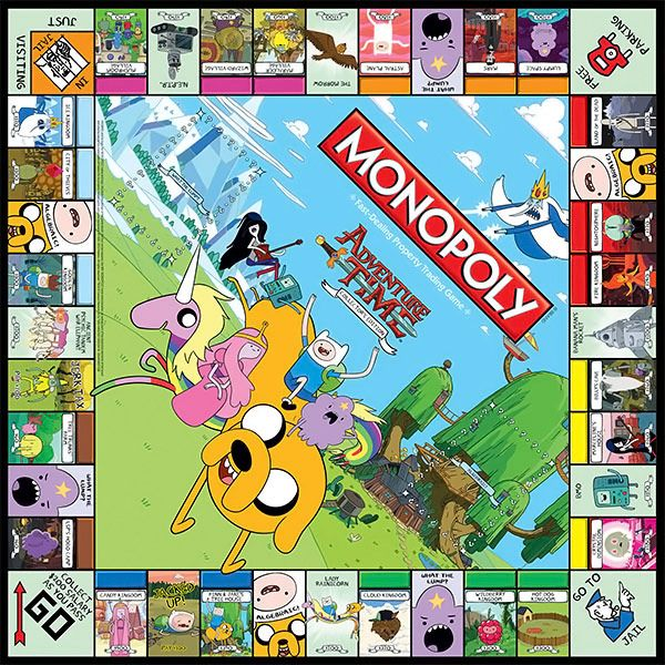 Adventure Time Monopoly Adventure Time Games Adventure Time Style Adventure Time