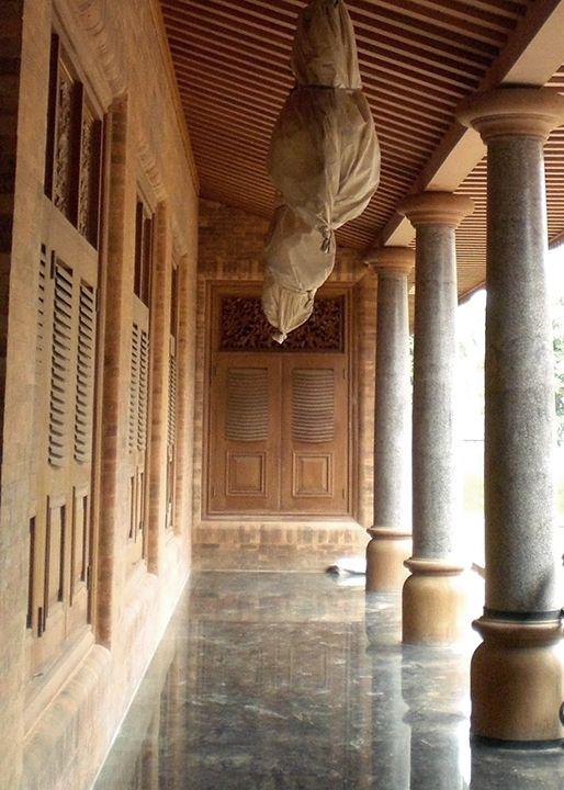 Selasar utilizes mixture of teak wood, marble and polished concrete - industrial maintenance worker resume sample