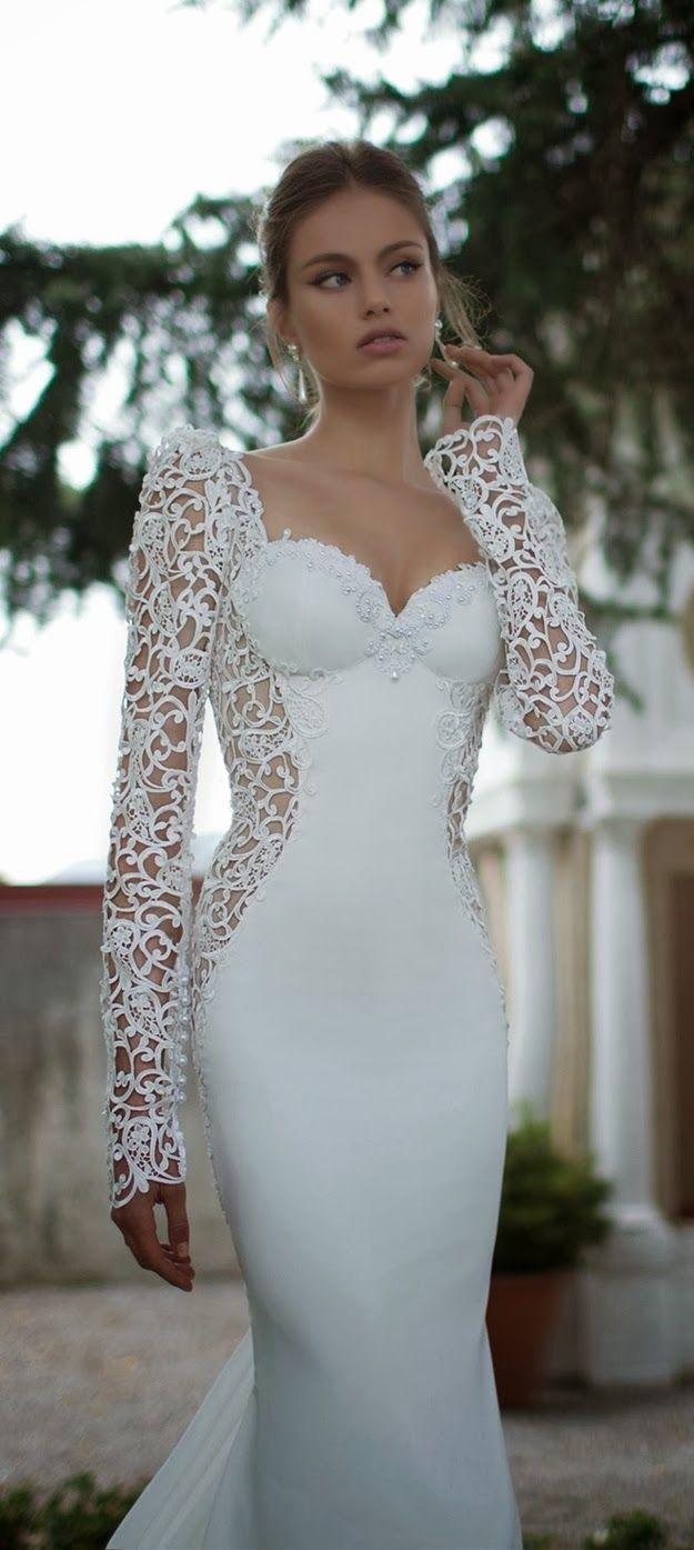 Uma das coleções mais lindas de vestidos de noiva, romântica, sexy e ...