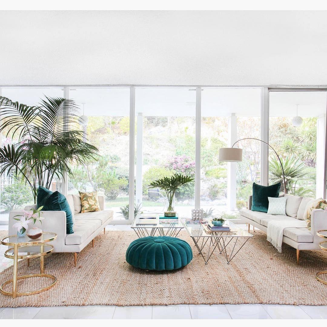 Sala Clean E Bem Iluminada  Living  Sala De Estar  Pinterest Gorgeous Clean Living Room Inspiration