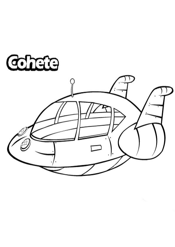 Little Einsteins Plane Coloring Pages Little Einsteins Little