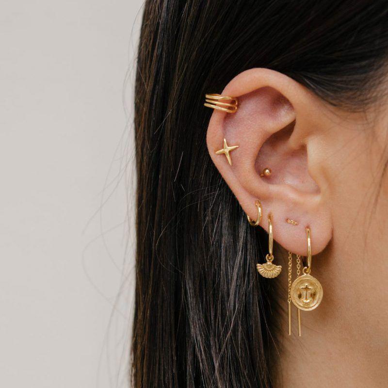 1346fa5d7 Earspiration - Eline Rosina #goldearrings   Jewelry for Women in ...