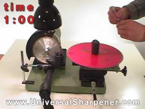 Blade Testing -Harbor Freight Circular Saw Blade Sharpener
