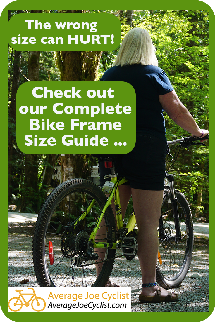 Complete Bike Frame Size Guide Bike Frame Measurement Size