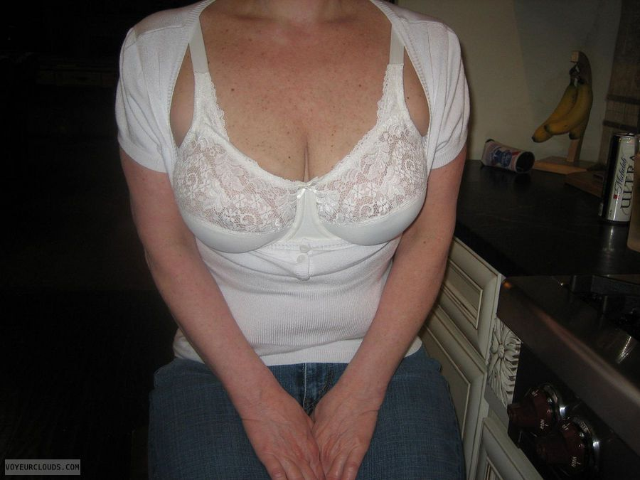 and Amateur wife sheer panties bra