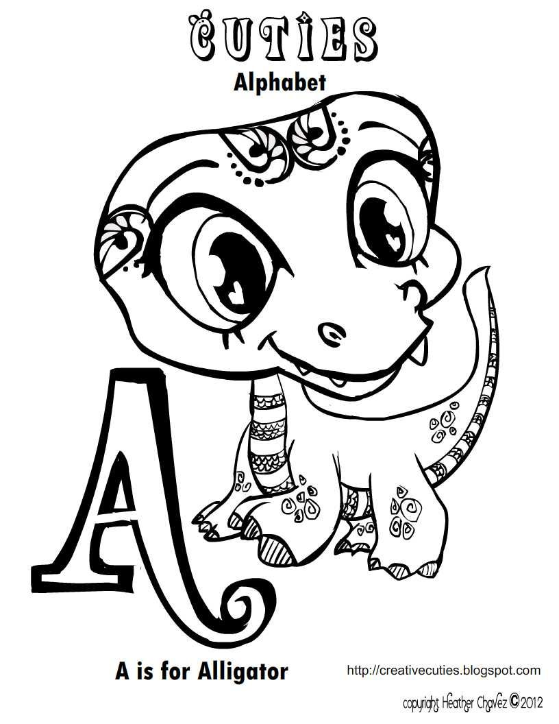 Heather chavez creative cuties free printables diego for Cuties coloring pages