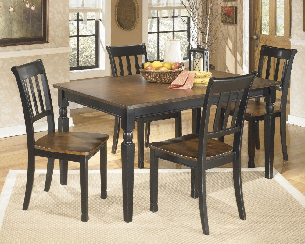 Owingsville Rectangular Dining Room Table 4 Side Chairs With