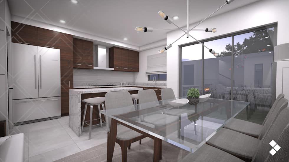 Ideas, imágenes y decoración de hogares | Pinterest | Cocina comedor ...