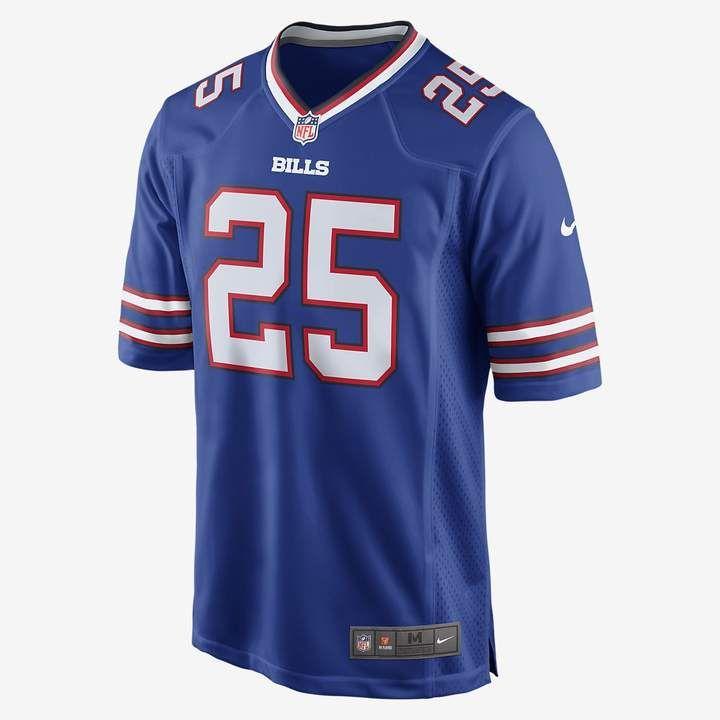 eb9e3a73 Travis Henry Buffalo Bills jersey size M Reebok navy blue   Buffalo ...