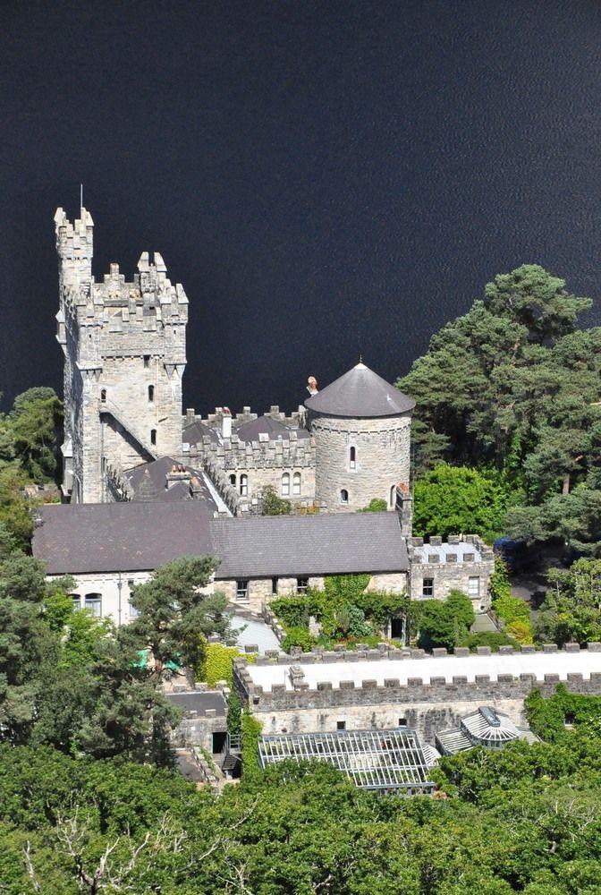 Chateau De Glenveagh Parc National De Glenveagh Comte De Donegal Irlande Burgen Und Schlosser Burg Hauser Burg