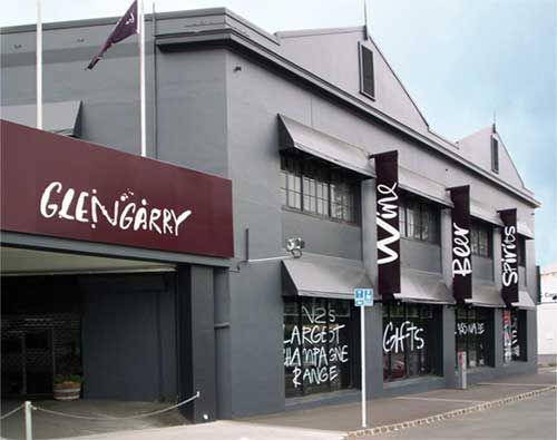 Glengarry, Auckland, New Zealand - Started as a winemaking venture on the Glengarry Road in West Auckland in 1940, Glengarry became New Zealand's first retailer to hold a liquor licence, capitalising quickly on a change in law that saw reselling imported liquor legalised