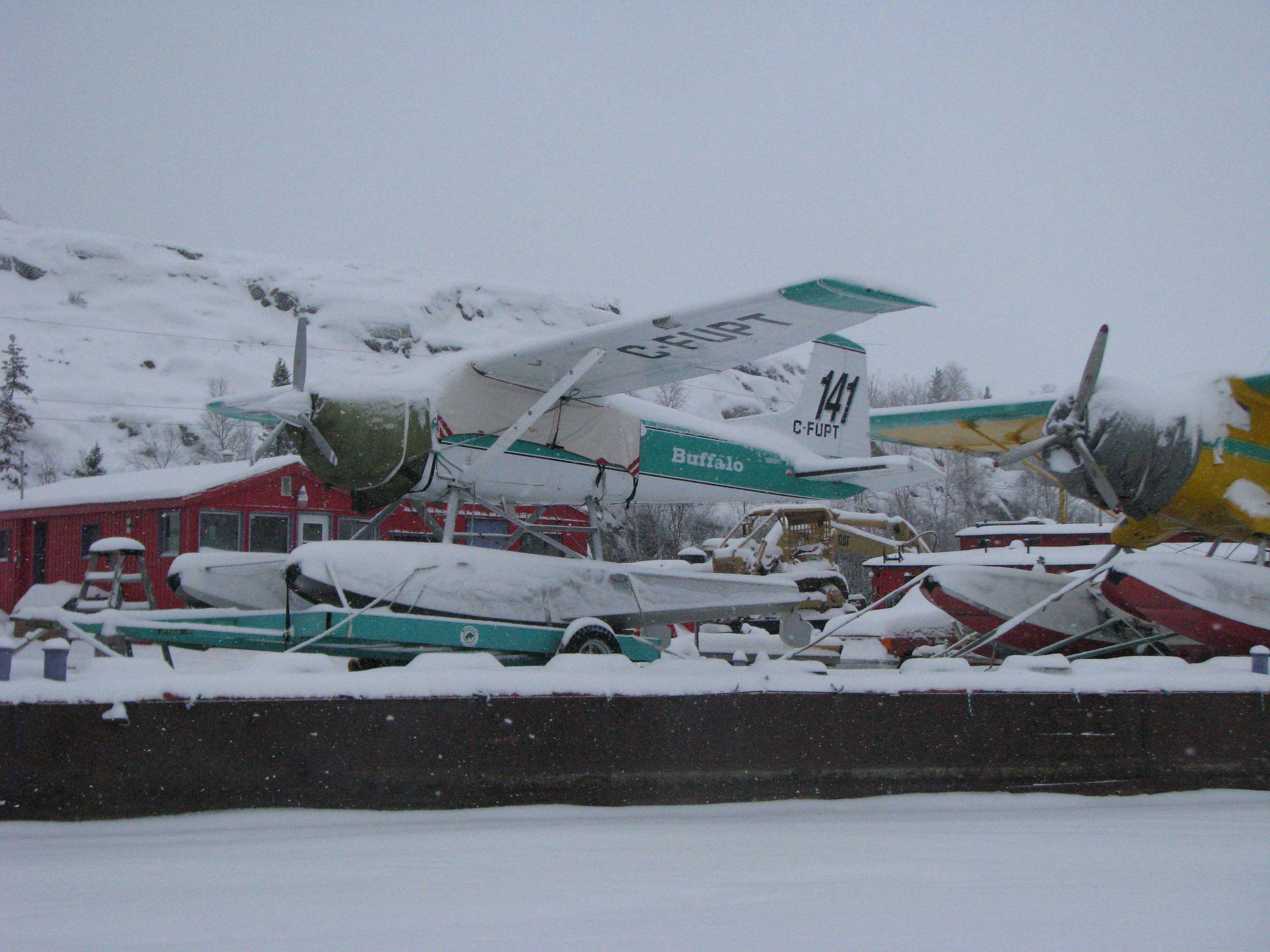 Buffalo Airways Cessna A185E floatplane, CFUPT