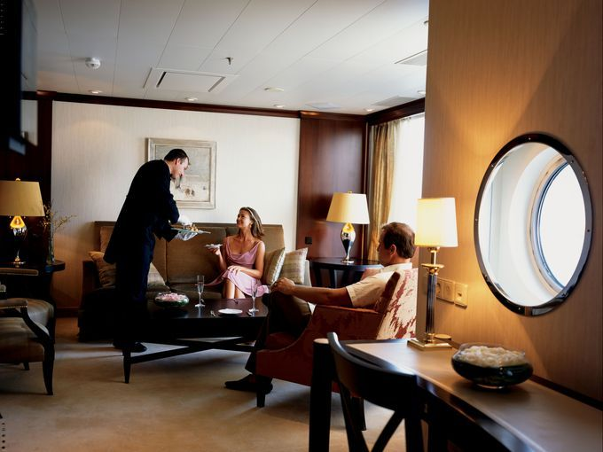 Photo Tour The 10 Best Cruise Ship Suites Best Cruise Ships