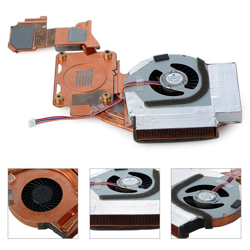 3Pin CPU Cooling Fans For Lenovo ThinkPad T500 Computer Case CPU