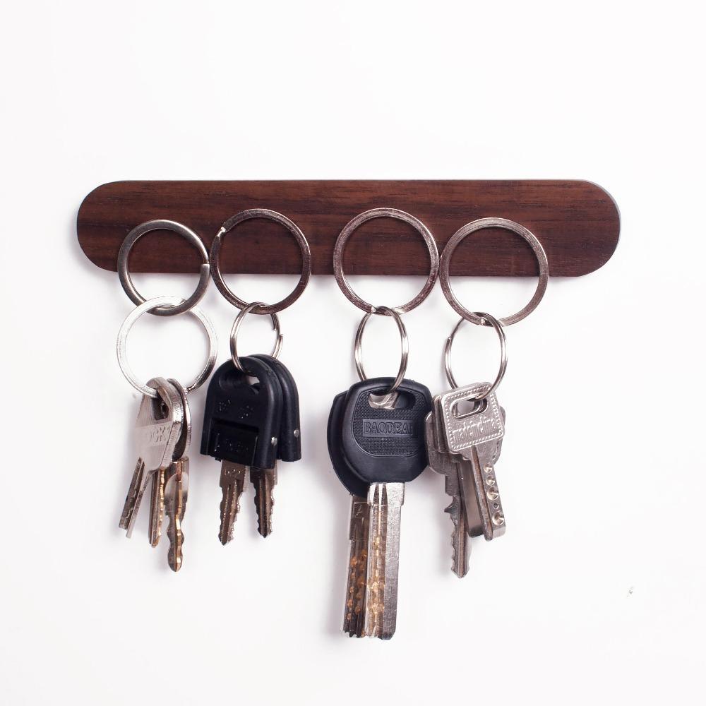 Wooden Key Holder Hoeden, Home decor