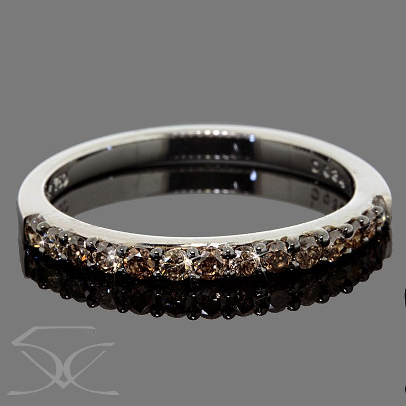 Cognac Diamonds Wedding Ring Product ID TWDDWR514 Cognac Diamond