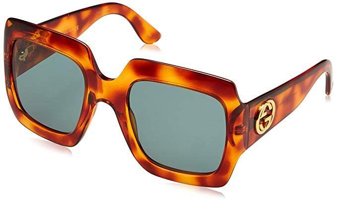 8a895c9cdd9 Gucci GG0053S 002 Avana-Avana With Green lenses 54MM Sunglasses  sunglasses   fashion  coolsunglasses  womensunglasses  coolfashion