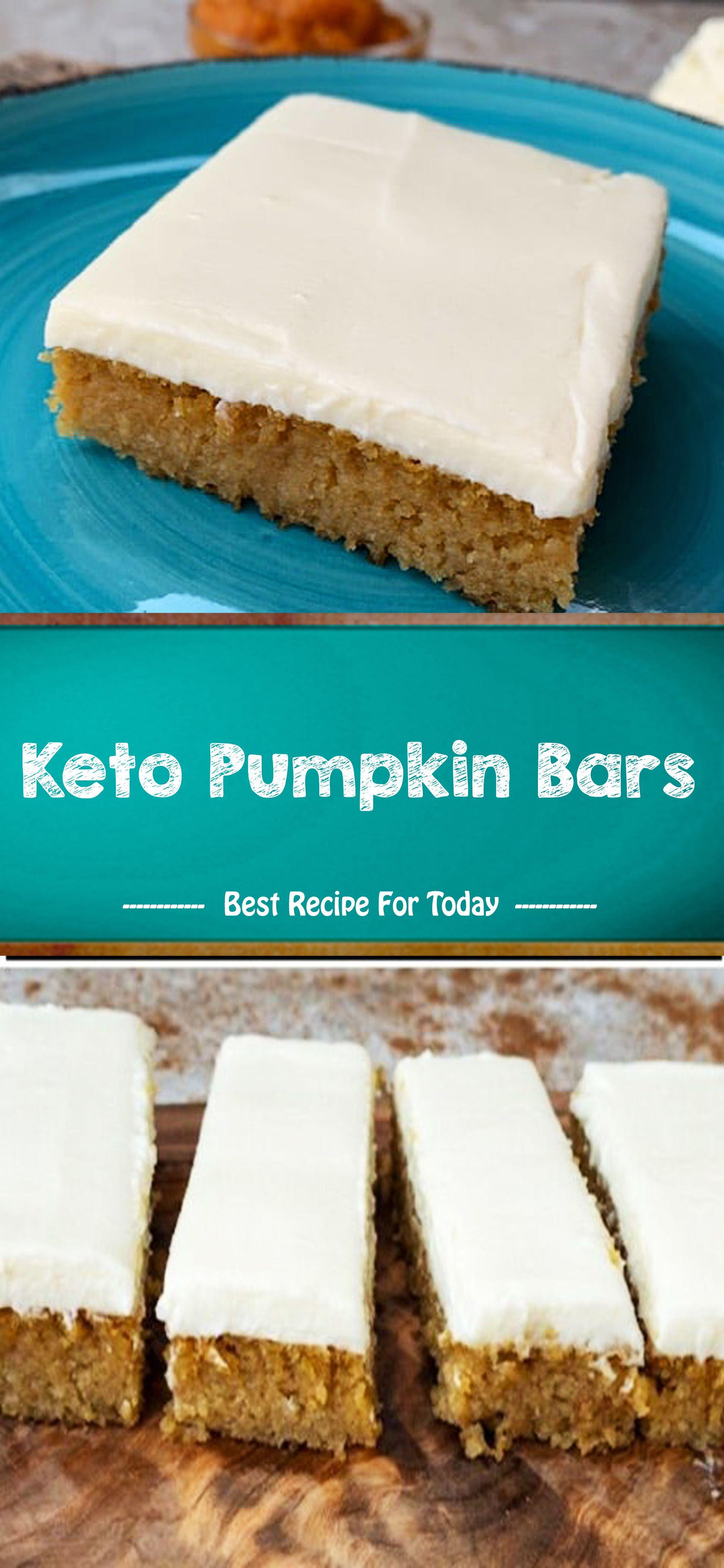 Keto Pumpkin Bars