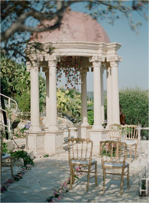 intimate wedding venue French Riviera http://goo.gl/Ew9hSH | Image by Greg Fink Photography, planning Lavender & Rose