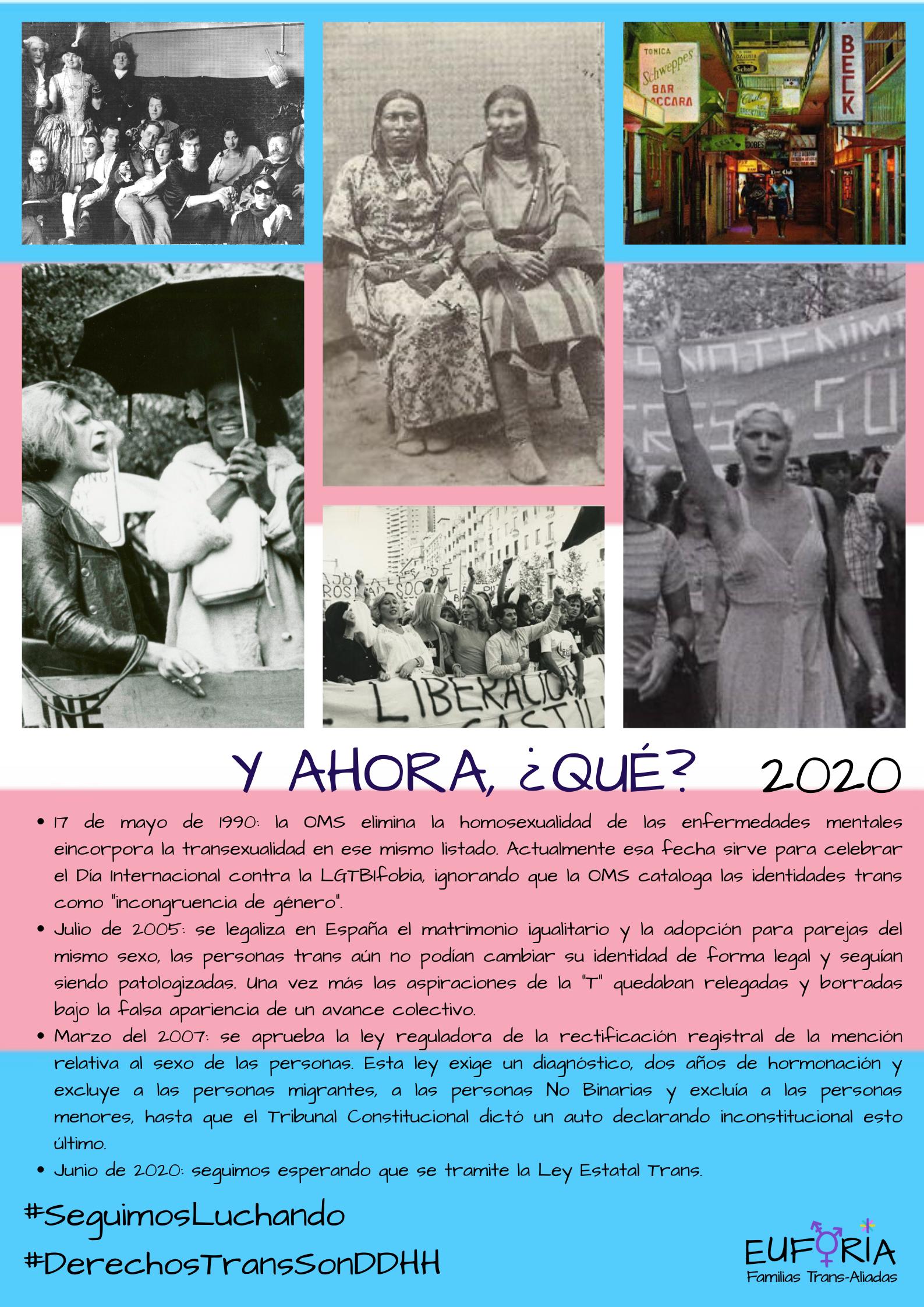 Manifiesto Orgullo 2020 - Confluencia Trans